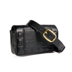 Chanel Vintage Square Quilted Fanny Pack Waist Bag