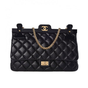 Chanel Classic Flap Runway Hanger Large Reissue Bag