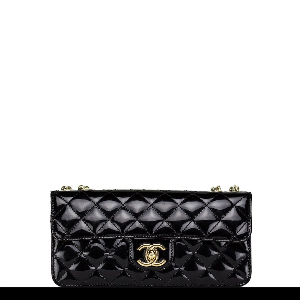 Chanel Patent Leather Cocktail Classic Flap