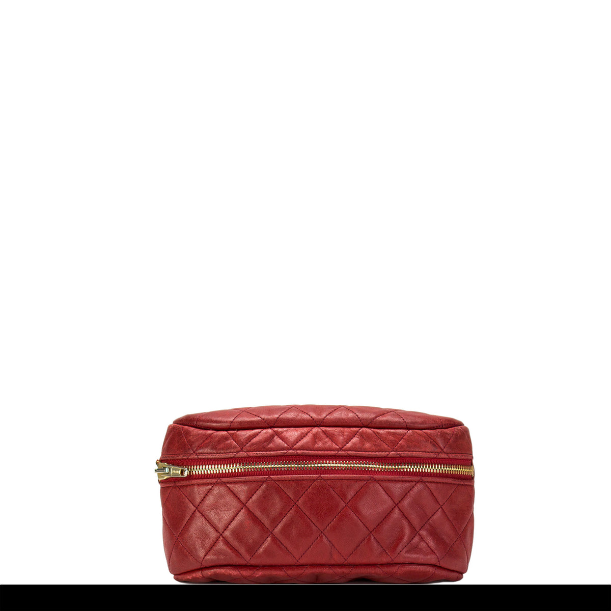 6adbea669c7f Chanel Red Lamb Quilted Medallion Fanny Pack – House of Carver