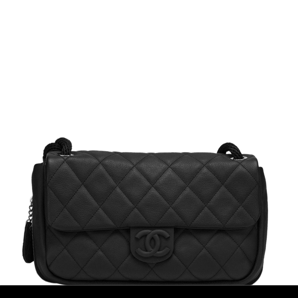 Chanel Yacht Quilted Expandable Flap Bag