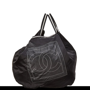 Chanel Nylon CC Logo Sporty Gym Bag