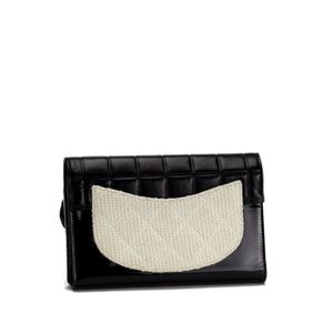 Chanel Tweed Iconic Vintage Clutch