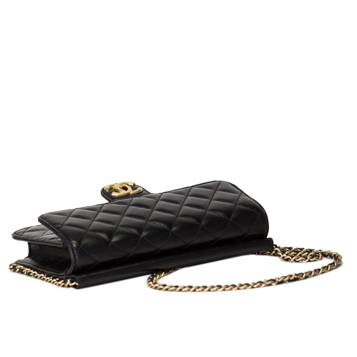 Chanel Small Lambskin Quilted Classic Flap Bag