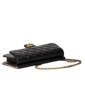Chanel Lambskin Quilted Flap