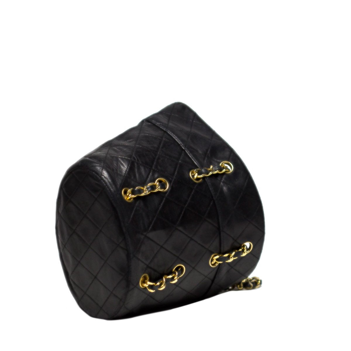 Chanel Interwoven Chain Bucket Tote