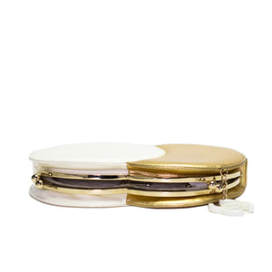Chanel Double Circle 70s Clutch
