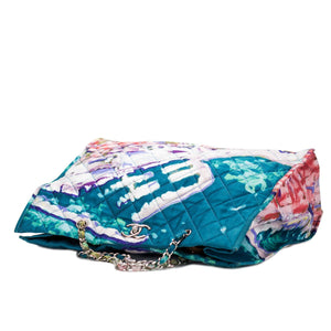 Chanel Watercolor Graffiti Beach Tote