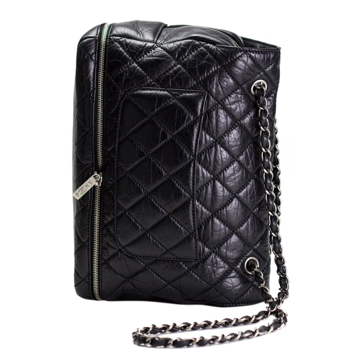 Chanel Expandable Large Calfskin Flap