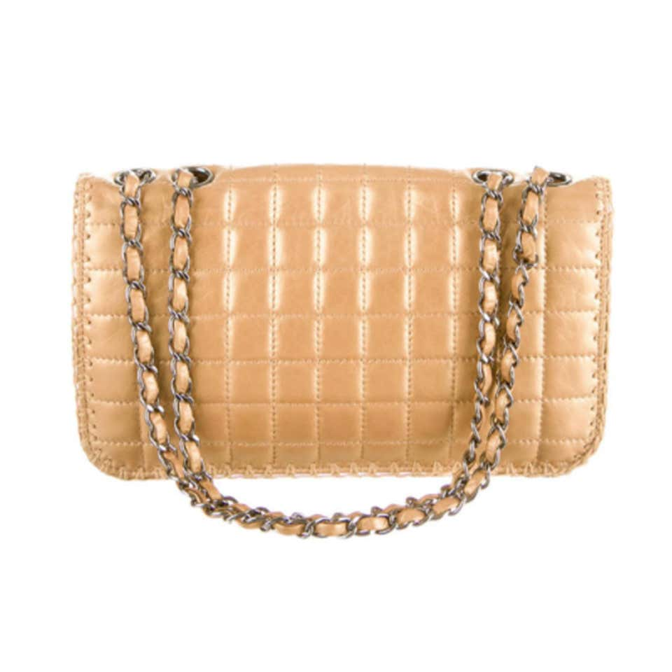 Chanel Vintage Gold Reissue Classic Small Medium Flap Bag