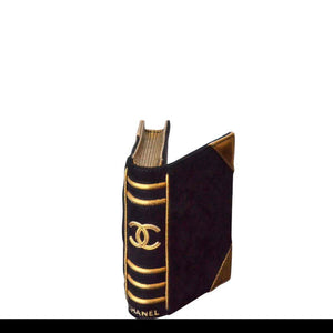 Chanel Vintage Bible Book Motif Clutch