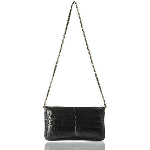 Chanel Crocodile Envelope Clutch Flap Bag