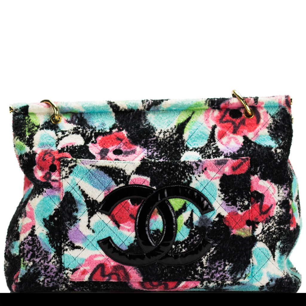 Chanel Graffiti Tropical Towel Tote