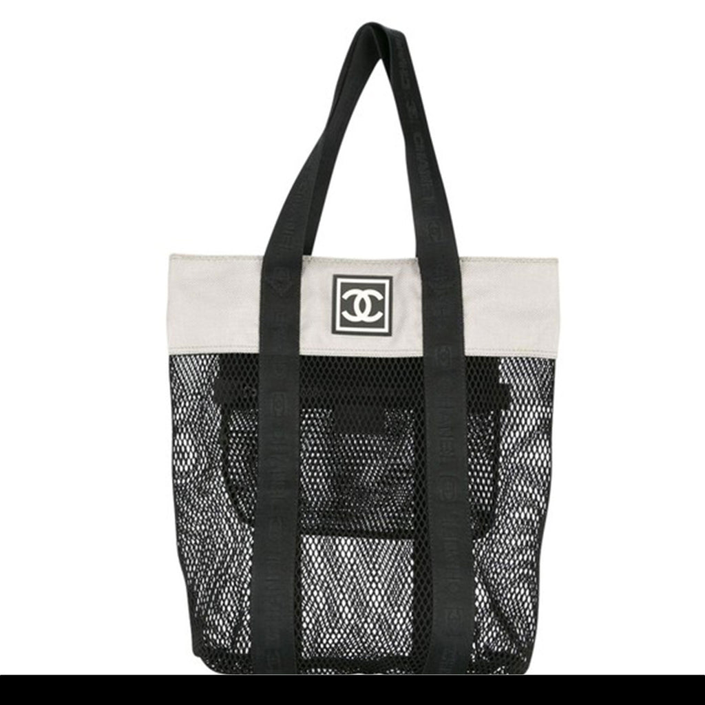 Chanel Mesh Retro Sport Gym Tote