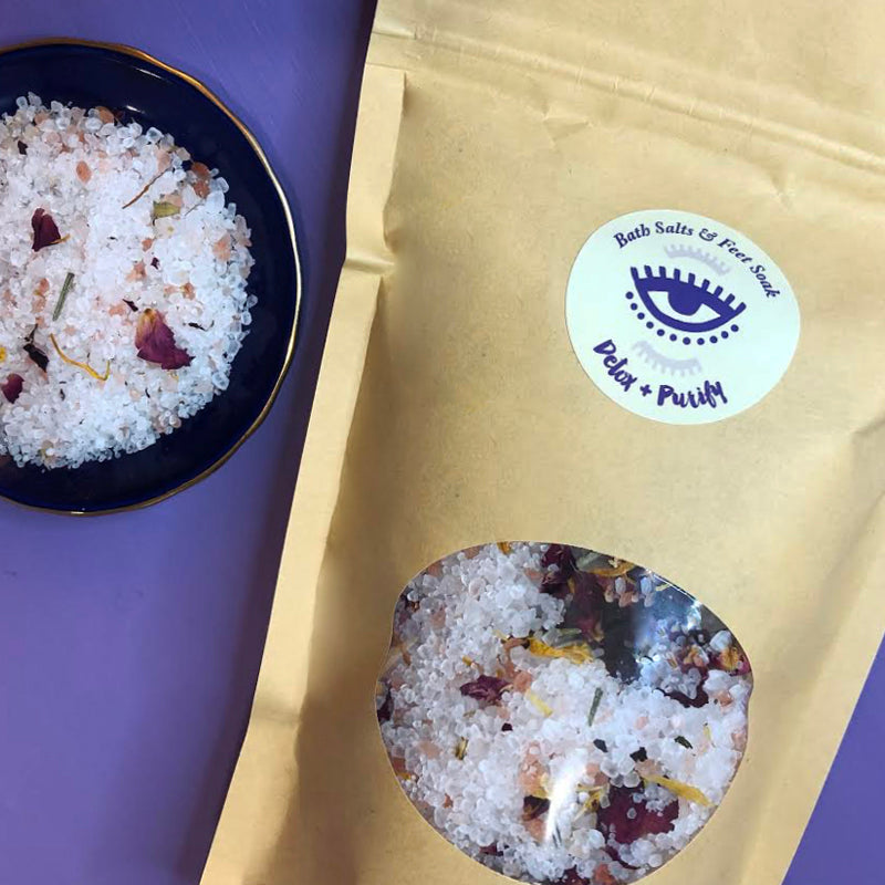 Detox + Purify Bath Salts & Feet Soak