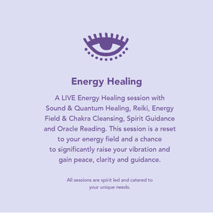 Energy Healing Session & Reading with Mar