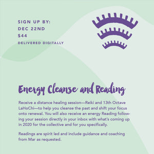 Distance Energy Cleanse & Reading (Delivered by Email)