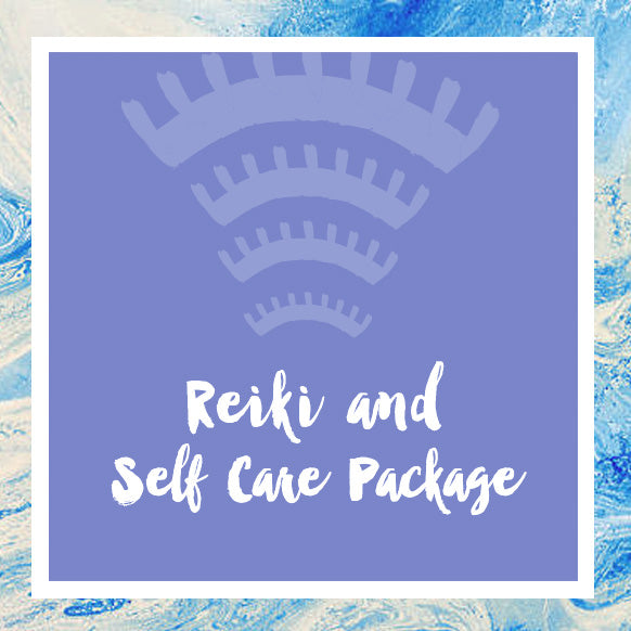 Reiki Session + Self Care Package