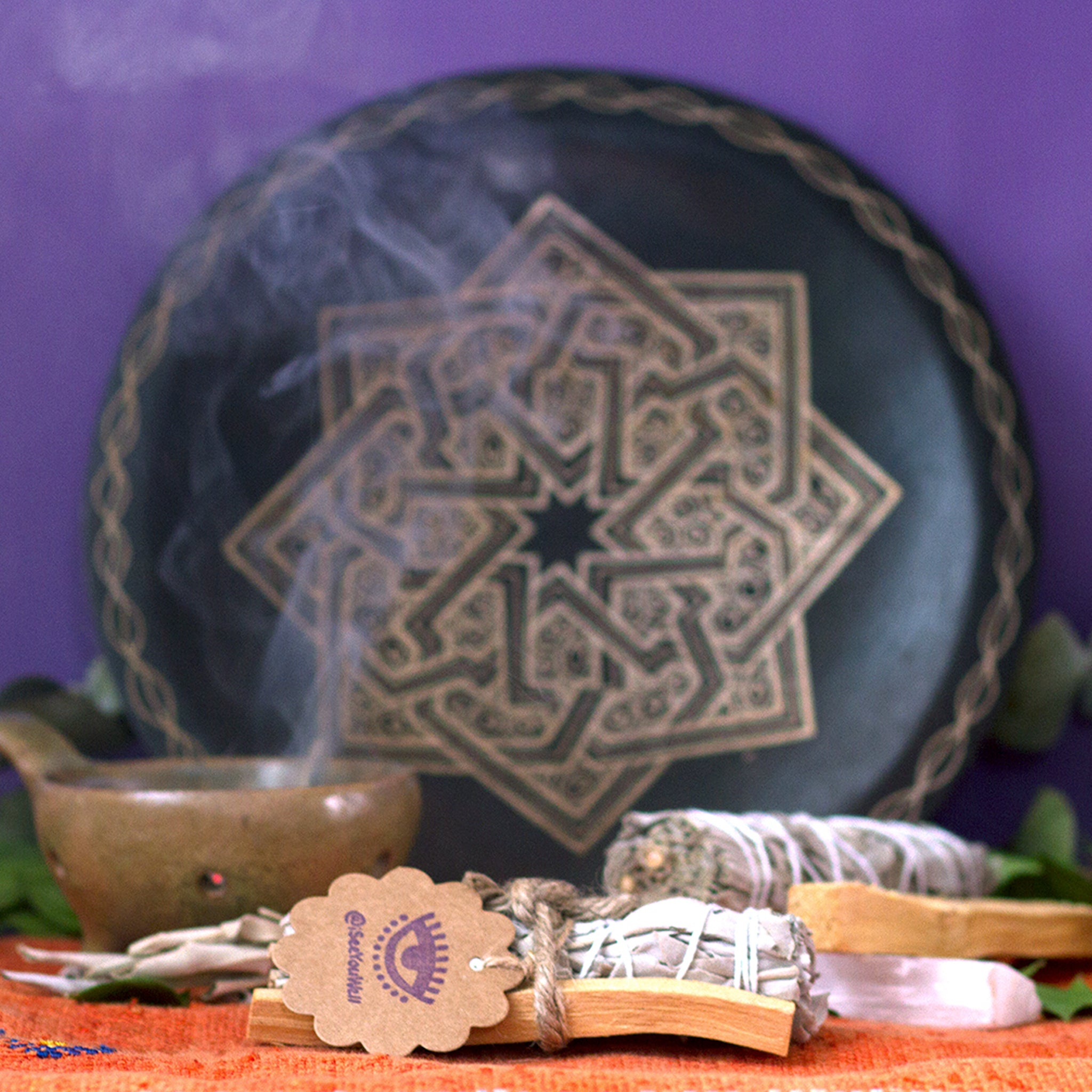 """Clear Yourself"" Palo Santo + Sage Bundle"