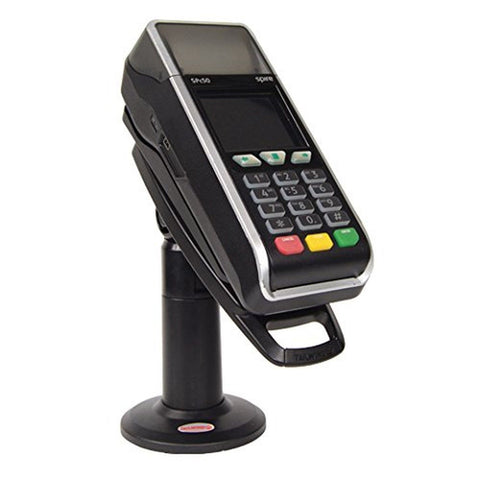 "Stand for Spire SPc50 Credit Card Terminal - 7"" Tall with KEY & Lock - Tilts ..."