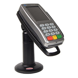 "Stand for Verifone VX820 Credit Card Terminal - 7"" Tall with Latch & Lock"