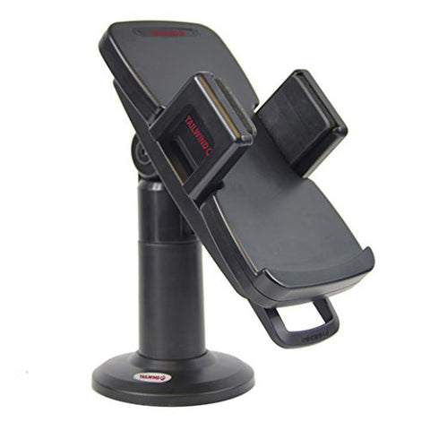 "Universal Flexigrip Stand for Credit Card Machine - Tall 7"" with Latch & Lock - Swivels 330 Degree and Tilts 140 Degree"