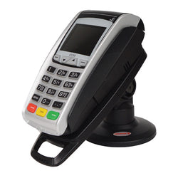 "Stand for Ingenico iCT220 & iCT250 Card Machine - Key & Lock - Compact 3"" Tall"