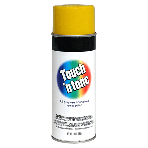 Dap Touch n Tone Canary Yellow Spray Paint