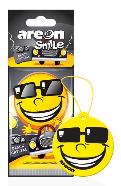 Areon Smile Black Crystal Air Freshener ASD19