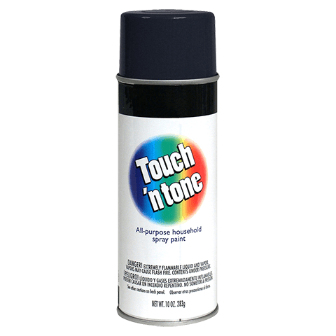 Dap Touch n Tone Flat Black Spray Paint