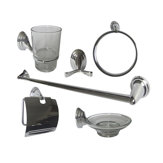 6pc Bath Accessory Set ACC-07