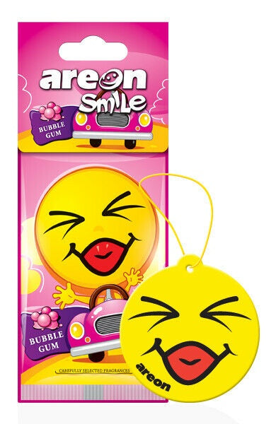 Areon Smile Bubble Gum Air Freshener ASD12