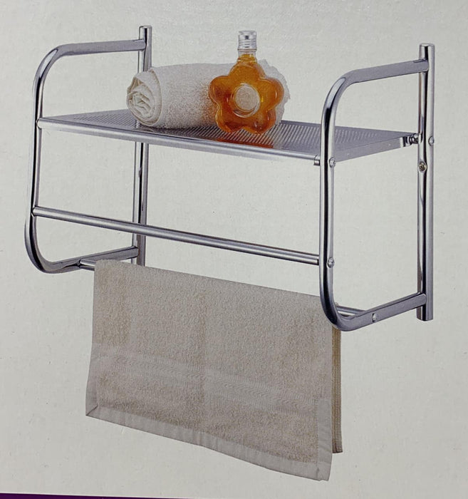 Simple Spaces Single Shelf & Towel Bar 4312955