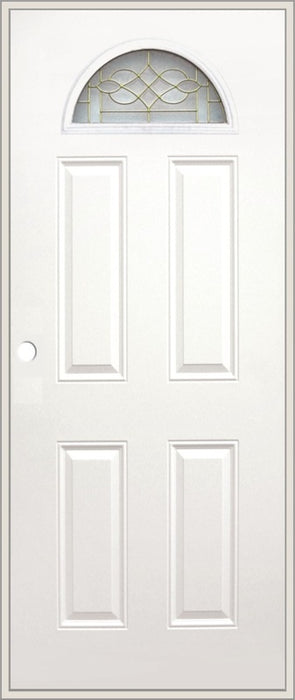Olympian Luna Metal Door 36x80