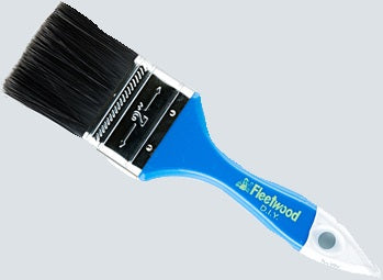 "Fleetwood DIY 2"" Blue Paint Brush"