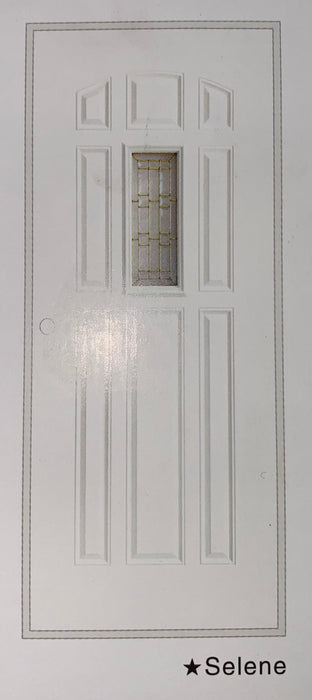 Olympian Selene Glass 36x80 Metal Door