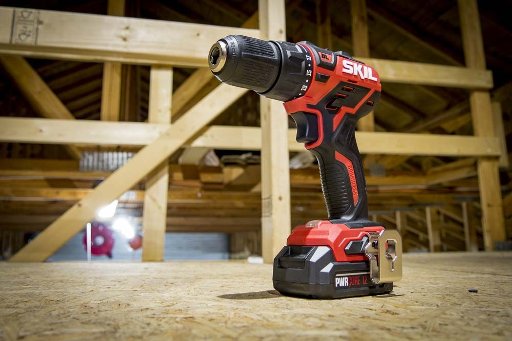 Skil 12v Brushless Drill Driver Kit DL529002