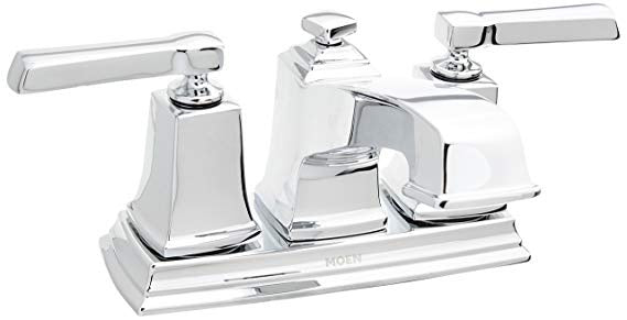 Moen Boardwalk 2 Handle Basin Faucet WS84800