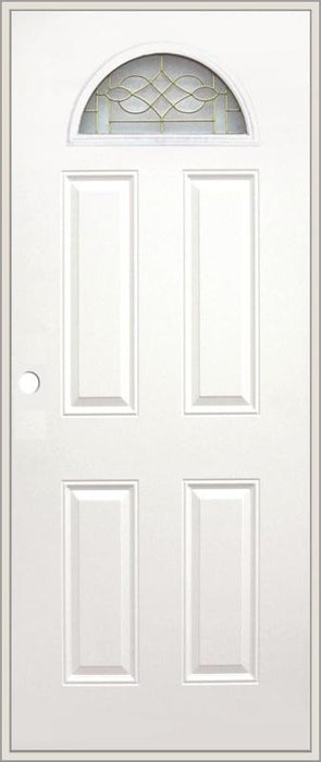Olympian Luna Glass 32x80 Metal Door