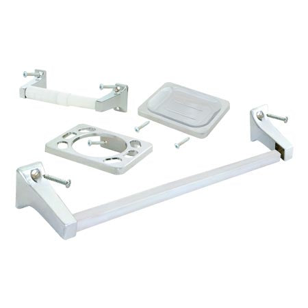 EZ-FLO 5pc Bathroom Accessories Set 12966