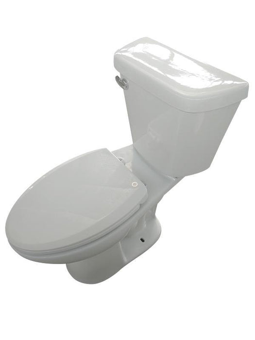 Gentry Eco Smart Elongated White Toilet