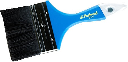 "Fleetwood DIY 4"" Blue Paint Brush"