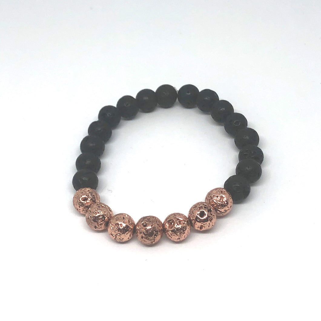 8mm Lava Rock Diffuser Bracelet