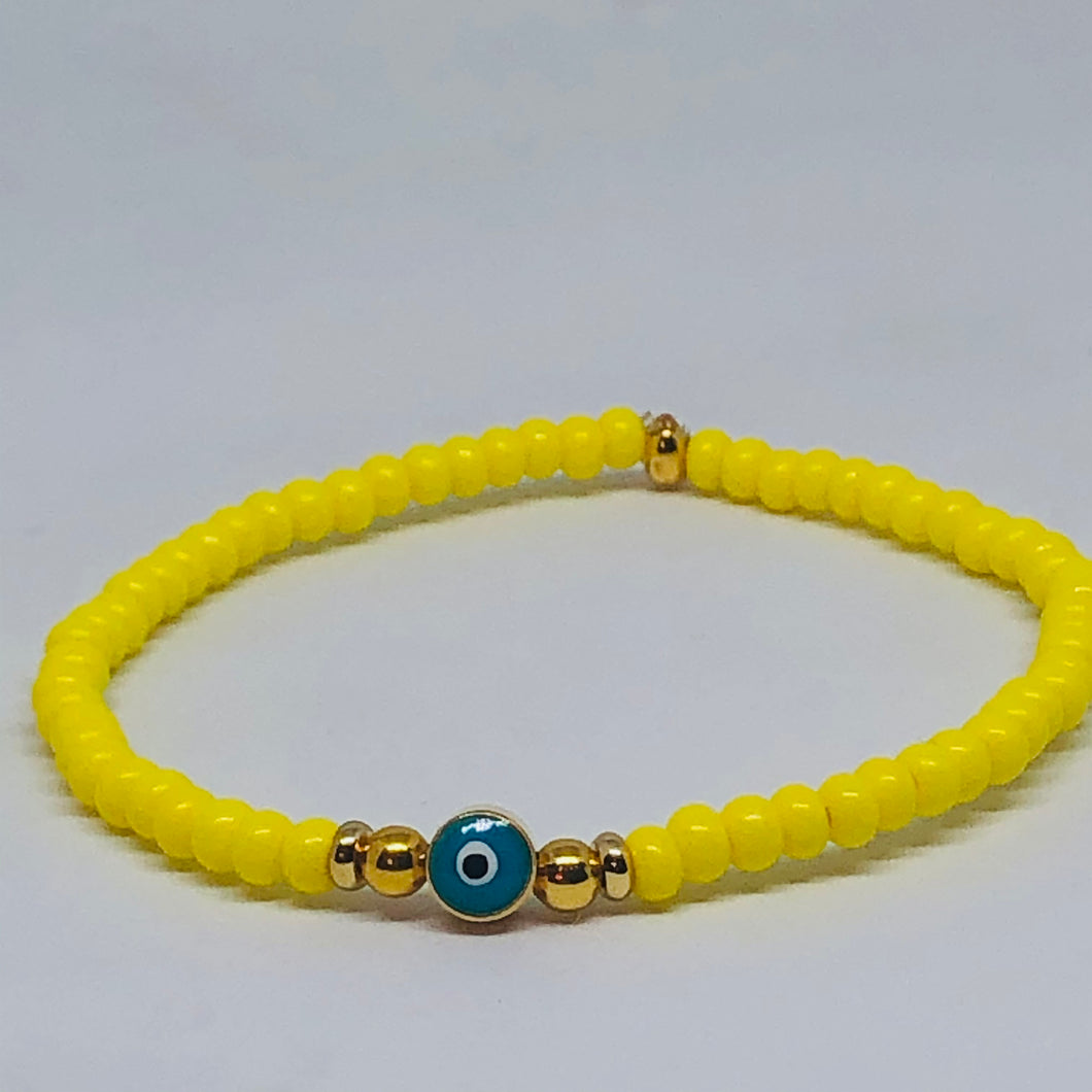 Yellow Evil Eye Crush