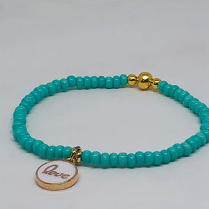 Charmed Turquoise Love Crush