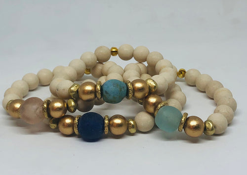Touch of Glass Signature Bracelet (Gold)
