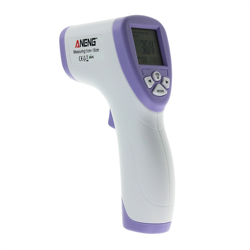 AN201 Digital Thermometer Infrared Baby Adult Forehead Non-contact Infrared Thermometer with LCD Backlight
