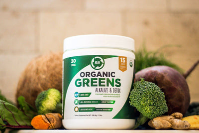 15 Ways Organic Greens Can Help Improve Your Health