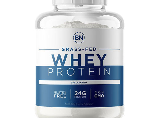 Grass Fed Whey 5lb Protein BN-Labs Unflavored Grass Fed Whey 5lb