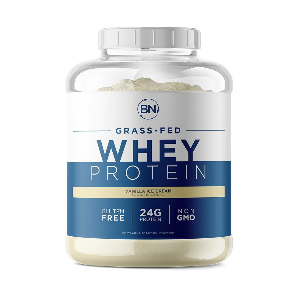 Grass Fed Whey 5lb Protein BN-Labs Vanilla Grass Fed Whey 5lb